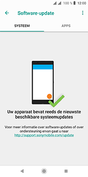 Sony xperia-l3 - Software update - update installeren zonder PC - Stap 6