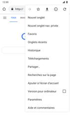 Nokia 8 - Android Pie - Internet et roaming de données - Navigation sur Internet - Étape 9