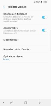 Samsung Galaxy S8 - Android Oreo - Internet et roaming de données - Désactivation du roaming de données - Étape 6