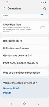 Samsung Galaxy A20e - Internet et connexion - Utiliser le mode modem par USB - Étape 5