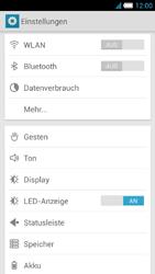 Alcatel One Touch Idol S - Netzwerk - manuelle Netzwerkwahl - Schritt 6