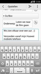 Huawei Ascend Y550 - e-mail - hoe te versturen - stap 10