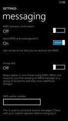 Nokia Lumia 930 - SMS - Manual configuration - Step 6