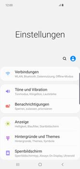 Samsung Galaxy S10 Plus - Internet und Datenroaming - Prüfen, ob Datenkonnektivität aktiviert ist - Schritt 4