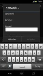 Sony Xperia V - WiFi - WiFi-Konfiguration - Schritt 7