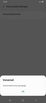 Samsung Galaxy A70 - voicemail - handmatig instellen - stap 11