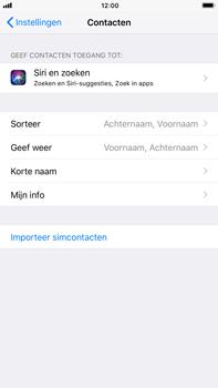 Apple iPhone 6 Plus - iOS 11 - Contacten en data - Contacten kopiëren van SIM naar toestel - Stap 4