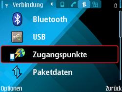 Nokia E71 - MMS - Manuelle Konfiguration - Schritt 7