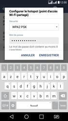 LG LG K8 - Internet et connexion - Partager votre connexion en Wi-Fi - Étape 8