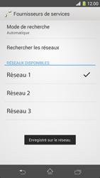 Sony Xperia Z1 Compact - Réseau - Sélection manuelle du réseau - Étape 10