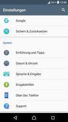 Sony Xperia XA - Fehlerbehebung - Handy zurücksetzen - 2 / 2