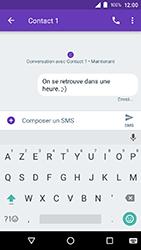 Crosscall Action X3 - Contact, Appels, SMS/MMS - Envoyer un SMS - Étape 9