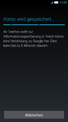 Alcatel Idol S - Apps - Konto anlegen und einrichten - 18 / 25