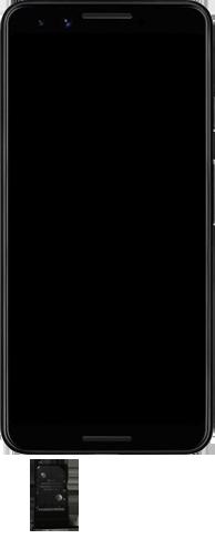 Google Pixel 3 - Premiers pas - Insérer la carte SIM - Étape 3