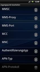 Sony Ericsson Xperia Arc S - MMS - Manuelle Konfiguration - Schritt 12