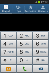 Samsung S6310 Galaxy Young - Voicemail - Manual configuration - Step 4