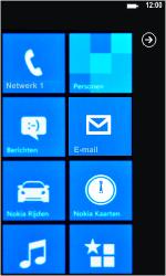 Nokia Lumia 800 - netwerk en bereik - gebruik in binnen- en buitenland - stap 11