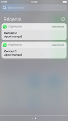 Apple iPhone 6 iOS 10 - iOS features - Personnaliser les notifications - Étape 11