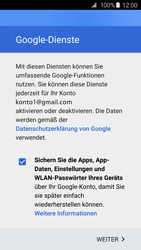 Samsung Galaxy S6 Edge - E-Mail - Konto einrichten (gmail) - 15 / 19