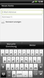 HTC Z710e Sensation - E-Mail - Konto einrichten - Schritt 5