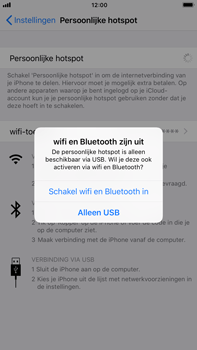 Apple iPhone 7 Plus iOS 11 - WiFi - WiFi hotspot instellen - Stap 7