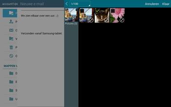 Samsung T805 Galaxy Tab S - E-mail - E-mails verzenden - Stap 16