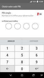 HTC Desire 530 - Sécuriser votre mobile - Activer le code de verrouillage - Étape 7