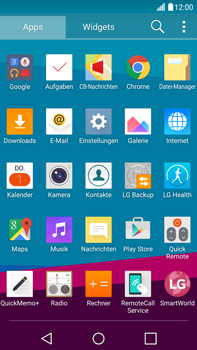 LG H815 G4 - Internet - Manuelle Konfiguration - Schritt 3