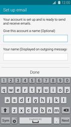 Samsung G900F Galaxy S5 - E-mail - Manual configuration IMAP without SMTP verification - Step 19