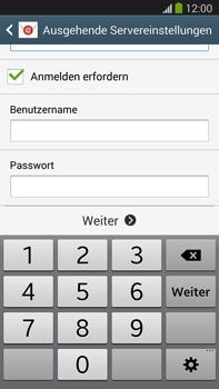 Samsung Galaxy Note III LTE - E-Mail - Manuelle Konfiguration - Schritt 13