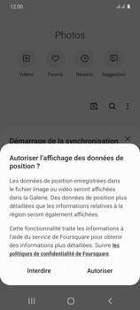 Samsung Galaxy S20 - Photos, vidéos, musique - Envoyer une photo via Bluetooth - Étape 4