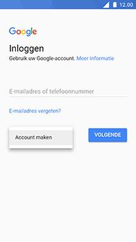 Nokia 6 - Applicaties - Account aanmaken - Stap 5