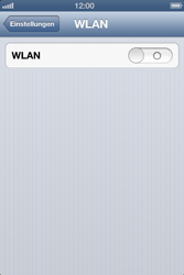 Apple iPhone 4S - WLAN - Manuelle Konfiguration - Schritt 4