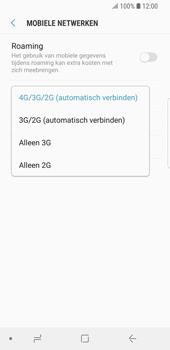 Samsung Galaxy S9 - Netwerk - Wijzig netwerkmodus - Stap 7