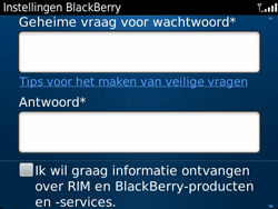 BlackBerry 9360 Curve - BlackBerry activeren - BlackBerry ID activeren - Stap 10