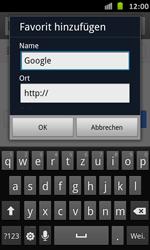 Samsung Galaxy S Advance - Internet und Datenroaming - Verwenden des Internets - Schritt 6