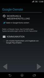 Sony E2003 Xperia E4G - Apps - Konto anlegen und einrichten - Schritt 12