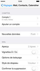 Apple iPhone 5s - iOS 8 - E-mail - Configuration manuelle - Étape 29