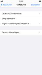 Apple iPhone 6s - iOS 13 - Startanleitung - So fügen Sie eine Tastatursprache hinzu - Schritt 8