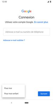 Google Pixel 3 - Applications - Créer un compte - Étape 6