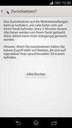Sony Xperia E3 - Fehlerbehebung - Handy zurücksetzen - 9 / 11