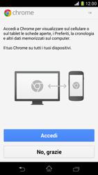 Sony Xperia Z1 Compact - Internet e roaming dati - Uso di Internet - Fase 5