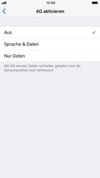 Apple iPhone 7 - iOS 12 - Netzwerk - Netzwerkeinstellungen ändern - Schritt 7