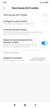 Xiaomi Mi Mix 3 5G - WiFi - Comment activer un point d'accès WiFi - Étape 4