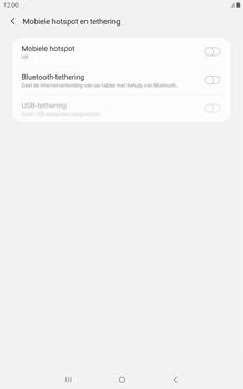 Samsung galaxy-tab-a-8-0-lte-2019-sm-t295 - WiFi - Mobiele hotspot instellen - Stap 6