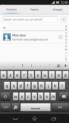 Sony Xpéria Z - E-mails - Envoyer un e-mail - Étape 6