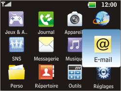LG C360 Golf - E-mail - Configuration manuelle - Étape 3