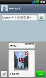 LG P970 Optimus Black - MMS - envoi d'images - Étape 10
