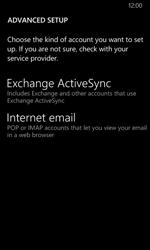 Nokia Lumia 635 - E-mail - Manual configuration - Step 11