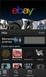 BlackBerry Z10 - Applicaties - Account aanmaken - Stap 3